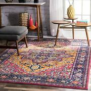Nuloom Vonda Fancy Persian Accent Rug 2and039 X 3and039 Orange
