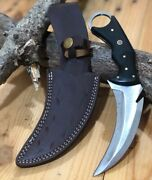 Mh Knives Extremely Classic Carbon Steel Karambit Handmade Knife Mh_17s