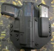 Hunt Ready Holsters Sa Xd 4 Bbl Owb Holster With Extra Mag Carrier