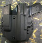 Hunt Ready Holsters Glock 17 / 22 Owb Lh Holster With Extra Mag Carrier