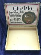 Antique 1906 Chiclets Countertop Sales Box Naked Eye Antiques