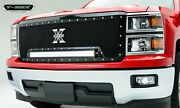 T-rex Grilles 6311191 Torch Series Led Light Grille Fits 14-15 Silverado 1500
