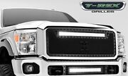T-rex Grille Grills 6315461-br Black Torch Series Led Light Grille Grill