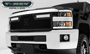 T-rex Grille Grills 6311231-br Black Torch Series Led Light Grille Grill
