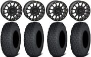 System 3 Sb-5 Black 15 Wheels 35 Coyote Tires Can-am Renegade Outlander