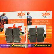 Ducati 749 R Rad Cal 04 On Sbs Front Brake Pads Dual Carbon Eo Quality 762dc