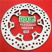 Ducati 900 Monster City 99 00 Ng Rear Brake Disc Genuine Eo Quality Upgrade 636