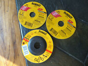 3 Nos Dewalt Grinding And Metal Cutting Wheels Dt 3402 And Xp Extended Dw8851 Type1