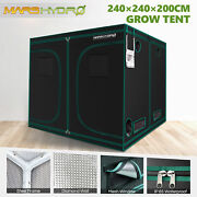 96''×96''×80'' Hydroponics Indoor Grow Tent For Horticulture Growing Cabinet Box
