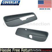 Coverlay Front Door Panel Inserts Slate Gray 17-94f-sgr 99-04 For Jetta,gl,wagon