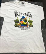 Vintage T Shirt - Maharajas St.paul Screen Stars Fine Gifts Nos Size Xl White