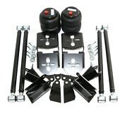 Weld On Triangulated 4 Link Suspension W/ Rear Bag Brackets Air Ride 2.75 Axle