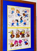 Peanuts Cel Itand039s Spring Training Charlie Brown Original Animation Art Model Cell