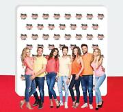 10and039 X 10and039 Step And Repeat Fabric Wall Box Display Tradeshow Advertising Display