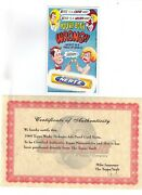 1969 Topps Wacky Packages Ads Nertz Proof Card-final Full Color Proof Mint