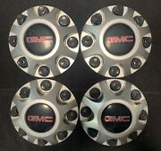 4 Gmc 2500hd 3500 9597819 Factory Oem Wheel Center Rim Cap Cover 8 Lug Dust 5499