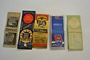 Match Book Covers Vintage Advertising Collectibles Lot 5