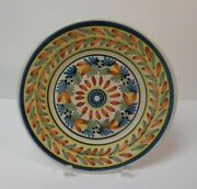 19th C. H R Quimper French Faience Salt Glaze Pottery 9 Plate 1