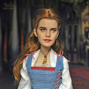 1/6 Ooak Disney Store Beauty And The Beast Live Film Collection Belle Doll Repaint