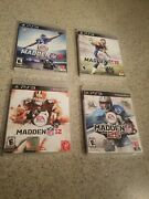 Madden Nfl 12, 13, 15 And 25 Sony Playstation 3 Ps3