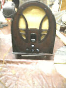 Vintage Philco Model 89 And 19 Am Tube Radio In Original Working Condition