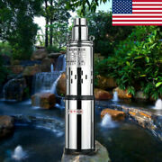 Dc 24v Submersible Water Pump Solar Deep Well Stainless Steel 200w 16l/min Usa