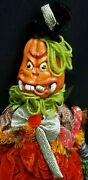 Morgue Sale Katherineand039s Collection 19 Crazy Pumpkin Doll Retired 2012 Mint