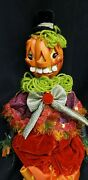 Morgue Sale Katherineand039s Collection 19 Silly Pumpkin Doll Retired 2012 Mint