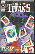 New Titans 68 Book Adrienne Roy Hand Colored Production Art 25 Pgs With Cover