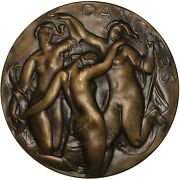Society Of Medalists 1962 Nude Dancers/bathers Bronze Medal / Maldarelli