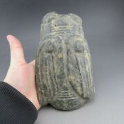China,jade,collectibles,hand-carved,hongshan Culture,cicada,statue E1