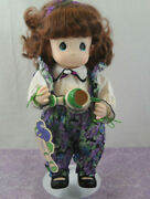 Precious Moments 12 Doll And Stand Garden Of Friends 1995 Violet February 1426