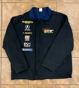 Vintage Team Gt Bicycles Jacket Double Sided Gt Racing Xl Xxl Embroidered Rare