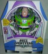 New Talking Buzz Lightyear Toy Story Interactive Figure Doll Toy 12in Light Up