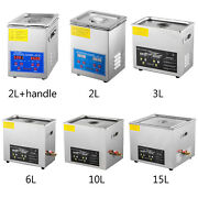 High Power Ultrasonic Cleaner Jewelry Cleaner Heater Timer