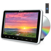 10 Lcd Car Headrest Hd Active Tv Monitor Pillow Dvd Player Hdmi Av Out And In Usb