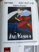 Inuyasha Fabric Poster 29.5x42 Inches