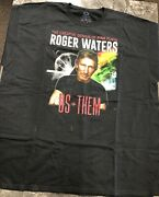 Vintage T Shirt - Roger Waters Genius Of Pink Floyd Us+them 2017 Shirt Size Xxl