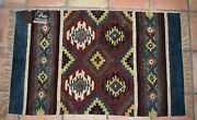 Perla South -western Vintage Rug Hand Woven Rayon Chenille Tassels India 30 48