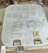 Used Marine 44 X 38 Square Steel Hatch 1/4 Thick Steel