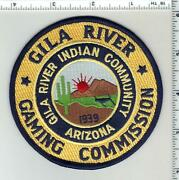 Gila River Indian Community Gaming Commission Arizona 1st Issue Shoulder Patch