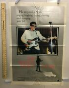 The Buddy Holly Story Columbia 1978. One Sheet 27 X 41. Rock And Roll