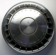 1969 Oldsmobile Cutlass And F-85 14 Inch Turbine Style Hubcap 15 Inch Across Face