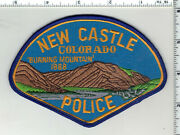 New Castle Police Colorado 1st Issue Shoulder Patch