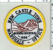 New Castle Marshal Colorado 1st Issue Shoulder Patch
