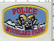 Woodland Park Police Colorado 2nd Issue Shoulder Patch