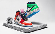 Air Jordan 1 Mid - Fearless - Melody Ehsani - Size 11.5w / 10 Men Sold Out