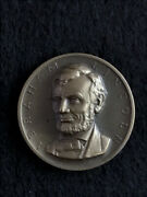 Vintage Abraham Lincoln Presidential Art Medal Medallic Art Co.