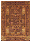 10x14 One-of-a-kind Hand Knotted Area Rug Traditional Design Wool