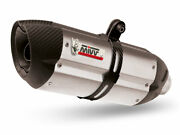 Mivv Exhaust For Ducati 998 1994 2001 Suono Stainless Steel 2 Sil Underseat